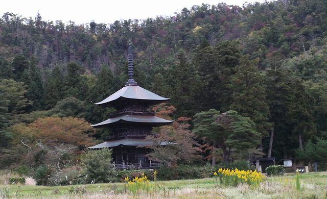 秋の安久津八幡神社。冬、春、夏、秋の安久津八幡は、色っぽいと思ってしまう。