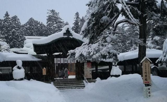 上杉神社正門