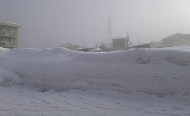 それでも多い雪