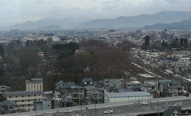 山形は雪がない